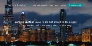 Cardelli Lanfear Law website.