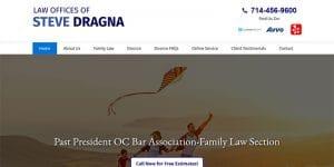 Law Offices of Steve Dragna website.