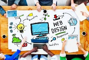 Lawyers Brainstorming Attorney Website Design Ideas.