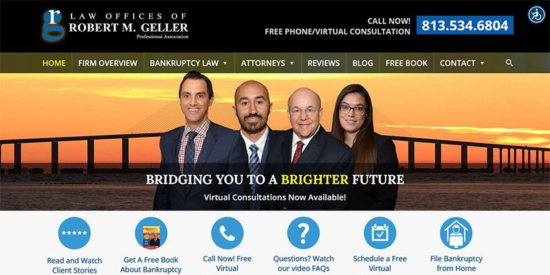 Tampa Bankruptcy Lawyers website.