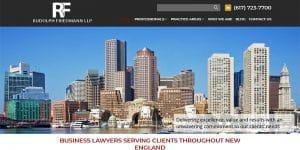 Rudolph Friedmann LLP law website.